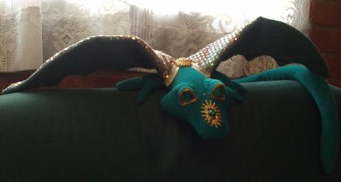 office dragon mascot